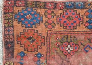 "Central Anatolian (Capadocya) rug,Late 19th century size:125 x 96 Cm          4'3""x3'2"""