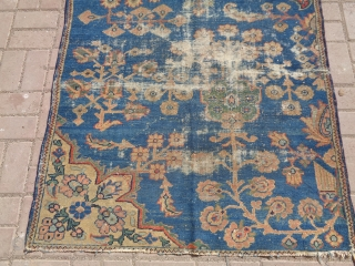 """Antique Persian Wegeirah ,with good age colors and design,All original without nay repair or work done,Size 4'5""""*3'7"""".E.mail for more info and pics."""