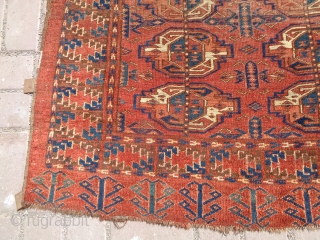 """Beshir Chuval with good age colors and design, all original without any repair or work done,Size 4'6""""*2'9"""".E.mail for more info and pics."""