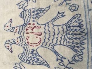 Antique Horse Blanket   size 7'6 x 6'0 Ft