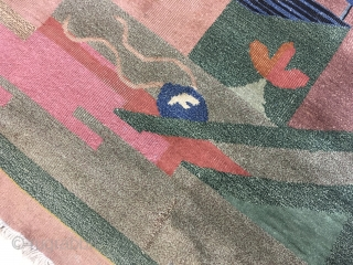 vintage art deco carpet, Size12 x 9 ft  https://www.etsy.com/uk/RugsAndTextiles/listing/688084725/a-captivating-vintage-hand-knotted?utm_source=Copy&utm_medium=ListingManager&utm_campaign=Share&utm_term=so.lmsm&share_time=1560515322445