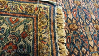 Antique Very Fine Persian Rug 1.95 x 1.60