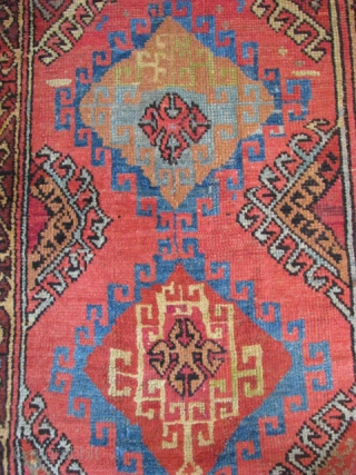 Konya rug from the end of 19th century