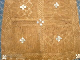 Banjara Darani(Quilted Mat)From Madhiya Pradesh India.Its size is 61cmX62cm(DSC01361 New).
