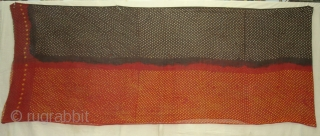 Safa (Turban)Tie and Dye(Natural Colours)Cotton malmal,From Kutch,Gujarat India.Its  size is 88cmX450cm(DSC01818 New).