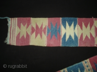 Decorative Belt Probably From West Asia, Or Swat region of Pakistan? Made on cotton,With Natural Colours. Its size is 10cmX312cm(DSC02935 New).