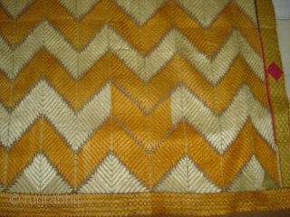 Phulkari From West(Pakistan)Punjab.India,With different influence of Nazar buti and different design(DSC03120 New).