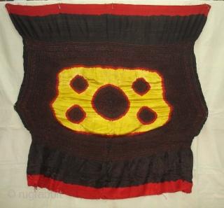 Kumbhi,Tie and Dye Silk Odhani(Bandhani)From Kutch Region of Gujarat,India.C.1900.(DSC05626 New).