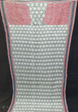 Jamdani Finest Muslin Cotton Saree,With Double Pallu,From Dhaka District of Bangladesh.North-East India.India.Jamdani was originally known as Dhakai named after the city of Dhaka, Jamdani is Persian deriving name from 'Jam', meaning flower,  ...