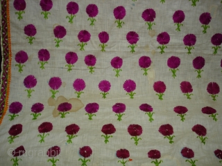 Embroidery Odhani(Cotton) From Tharpar Region of Pakistan.Its size is 140cmX210cm(DSC01381 New).