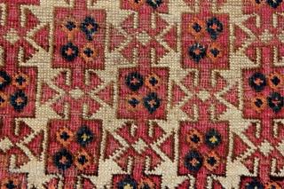 Early Ersari Asmalyk fragment, 152x57cm