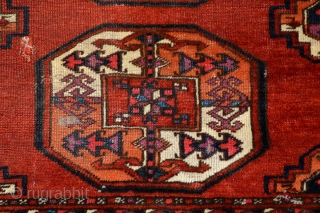 Saryk main carpet fragemnt, ca 233x190cm