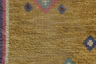 Swedish carpet, 300x200 aprox. commissioned By Ernst Hartmann in the 1930s for Tenhult mansion in Jönköping, Småland, and made by Hemslöjden, the Handicraft, in Jönköping. Nice carpet that shows both oriental and Swedish  ...