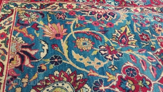 Antique Yadz,  beautiful composition, 220 x 130, circa 1900/1910 Price upon request
