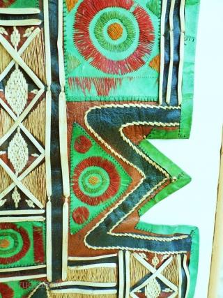 Leather Bag flap Tuareg, Sahara circa 1930/40. 60 x 70. Price upon request