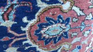 Isfahan wool and silk, cira 1930/1940, perfect condition, 210 x 140 Price upon request