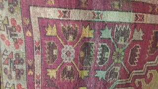 Antique Prayer kirsehir, 150 x 104  Price upon request