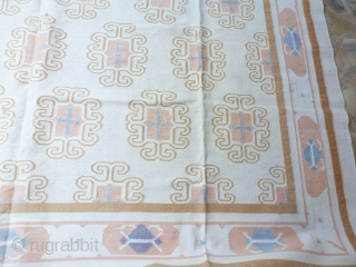 """Summer carpet"""" Durry"""" 389 x 300. Perfect condition. Price upon request"""