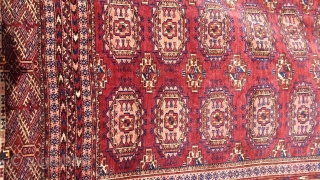 Antique Tekke before 1900 very good look. 190 x 122. Top wool quality. Price upon request