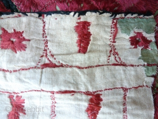 Fragments Dress Border, Central Asia?, 55 x 66