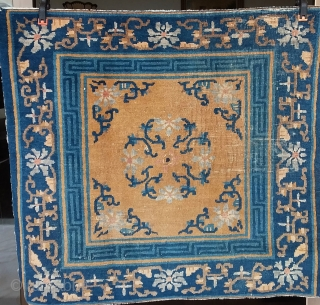 Paire seat Pékin A pair of Ceremonial seat, mid 19th, Pekin or Ningxia, 94 x 83.  Price upon request.