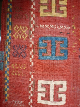 Flat weaving Azeri, 19th century, 170 x 73.