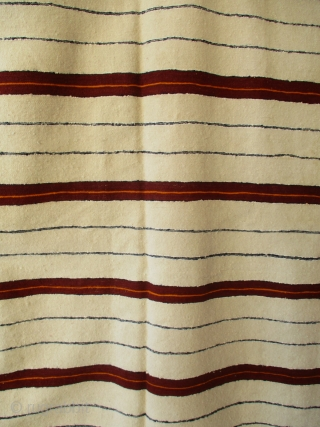 BERBER HANDIRA (SHAWL OR CAPE) FROM THE HIGH ATLAS. This rare, very fine cape is the work of the little known Ait Atta Berber group in the extreme eastern edge of the  ...