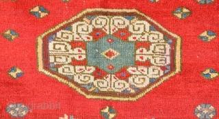 Early 18th Century Anatolian Mihaliç Prayer Rug Size 100 x 140 cm
