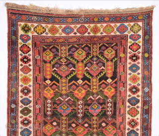19th Century Unusual Nord-West Persian Rug. It's in Very Good Condition. It has great colors. Size 107 x 184 Cm