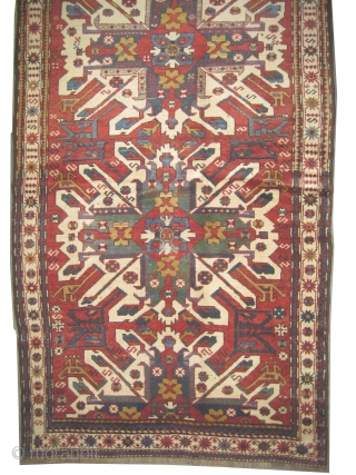 "Tchelaberd Caucasian circa 1905 antique. Collector's item. Size: 224 x 130 (cm) 7' 4"" x 4' 3""  carpet ID: K-3613