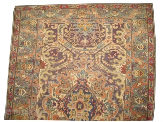 "Kayseri Turkish circa 1920 antique. Size: 189 x 132 (cm) 6' 2"" x 4' 4"" 