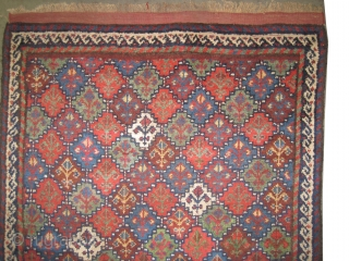 "Gutschan-Kurd Persian circa 1910 antique. Collector's item, Size: 188 x 110 (cm) 6' 2"" x 3' 7""  carpet ID: E-457