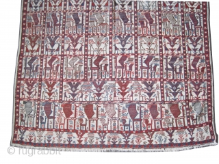 "Vernneh Caucasian circa 1910 antique. Collector's item, Size: 231 x 150 (cm) 7' 7"" x 4' 11""  carpet ID: A-1168