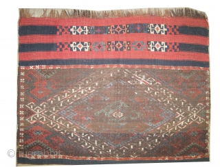 "Kotahya kilim Anatolian Antique fragment, collector's item, Size: 108 x 78 (cm) 3' 6"" x 2' 7""  carpet ID: LM-3