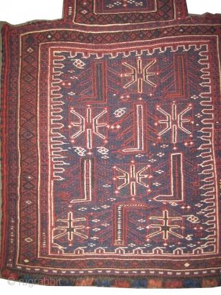 "Namakdar Baktiar Persian circa 1910 antique. Collector's item, Size: 73 x 50 (cm) 2' 5"" x 1' 8""  carpet ID: A-747 Salt bag, perfect condition, woven with 100% hand spun wool  ..."