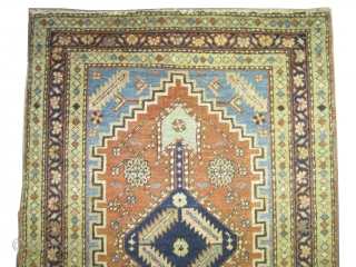"Serapi Heriz Persian circa 1905 antique. Size: 177 x 96 (cm) 5' 10"" x 3' 2""  carpet ID: K-4685