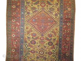 """Farahan Persian circa 1890 antique. Collector's item, Size: 437 x 114 (cm) 14' 4"""" x 3' 9""""  carpet ID: K-3672 vegetable dyes, the black color is oxidized, the knots are hand spun  ..."""