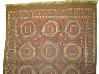 "Beshir Turkmen antique. Collector's item, Size: 294 x 153 (cm) 9' 8"" x 5' 