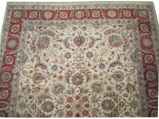 "Tabriz Persian 20th century, semi antique. Size: 405 x 290 (cm) 13' 3"" x 9' 6""  carpet ID: P-5671