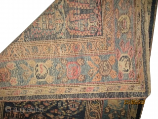"Malaier Persian knotted circa in 1895 antique, collector's item,  197 x 103 (cm) 6' 6"" x 3' 5""  carpet ID: K-3782
