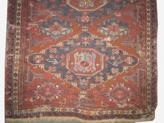 "Soumak kelim Caucasian circa 1910 antique. Collector's item, Size: 183 x 108 (cm) 6'  x 3' 6""  carpet ID: A-960