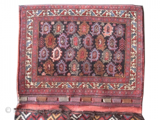 "Afshar Persian circa 1920 Semi antique saddle-bag, collector's item, Size: 155 x 87 (cm) 5' 1"" x 2' 10""  carpet ID: K-689