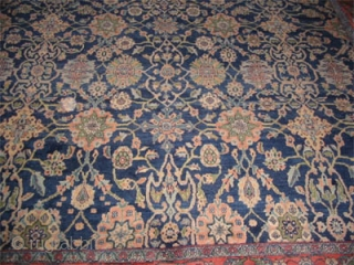 "Mahal Persian circa 1925 Semi antique. Size: 503 x 360 (cm) 16' 6"" x 11' 10"" 