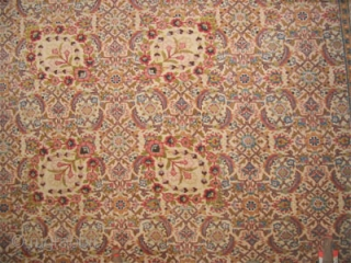 "Hajikhalili Tabriz Persian circa 1920 semi antique.  Size: 452 x 340 (cm) 14' 10"" x 11' 2""  carpet ID: P-5958