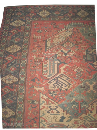 "Soumak kelim Caucasian old with dragon design, over size  616 x 530 (cm) 20' 2"" x 17' 5""  carpet ID: A-887