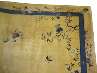 "Beijing Chinese Art Deco, circa 1930. Size: 350 x 284 (cm) 11' 6"" x 9' 4""  carpet ID: P-6133