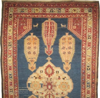 """Chikli-Kazak Caucasian knotted circa in 1905 antique, Size: 225 x 140 (cm) 7' 5"""" x 4' 7""""  carpet ID: RS-189  High pile, perfect condition. The carpet is soft as an handkerchief  ..."""