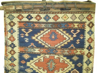 Soumak Caucasian torba 1910