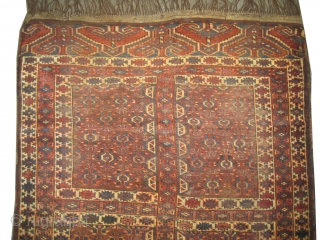 "Yemouth Turkmen antique, CarpetID: K-4720. Size: 164 x 133 (cm) 5' 5"" x 4' 4"" feet.