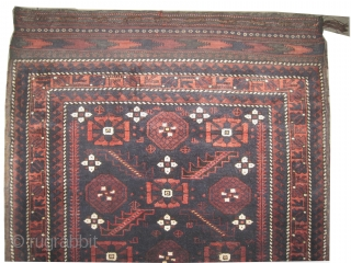"Belutch bag face Persian circa 1905, antique. Collector's item. Size: 85 x 70 (cm) 2' 9"" x 2' 4"", carept ID: K-3549